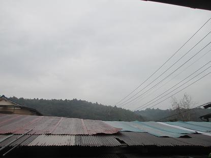台風がイメージ