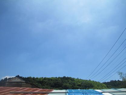 台風が去りました!イメージ